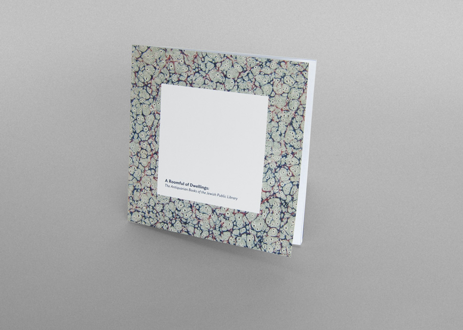 A Roomful of Dwellings Book Design