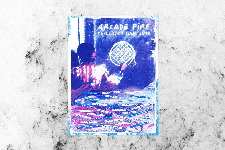 Arcade Fire Reflektor Poster Design