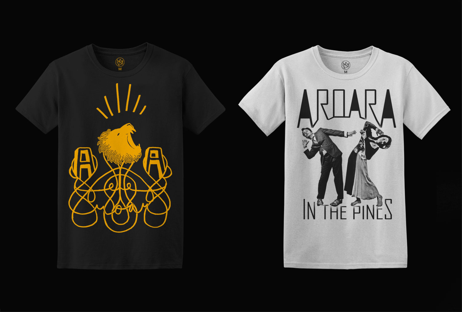 AroarA In the Pines t-shirt Design
