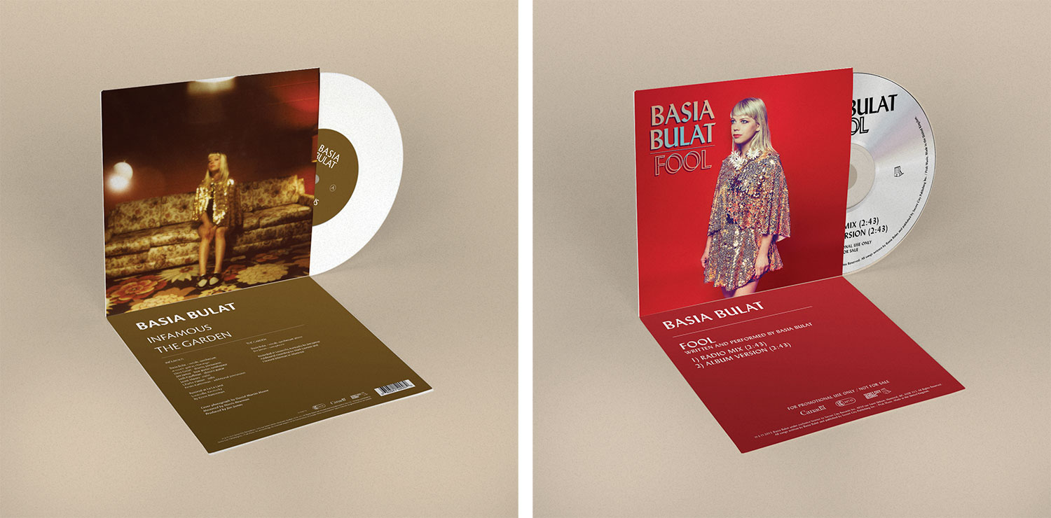 Basia Bulat Fool Single and infamous single vinyl