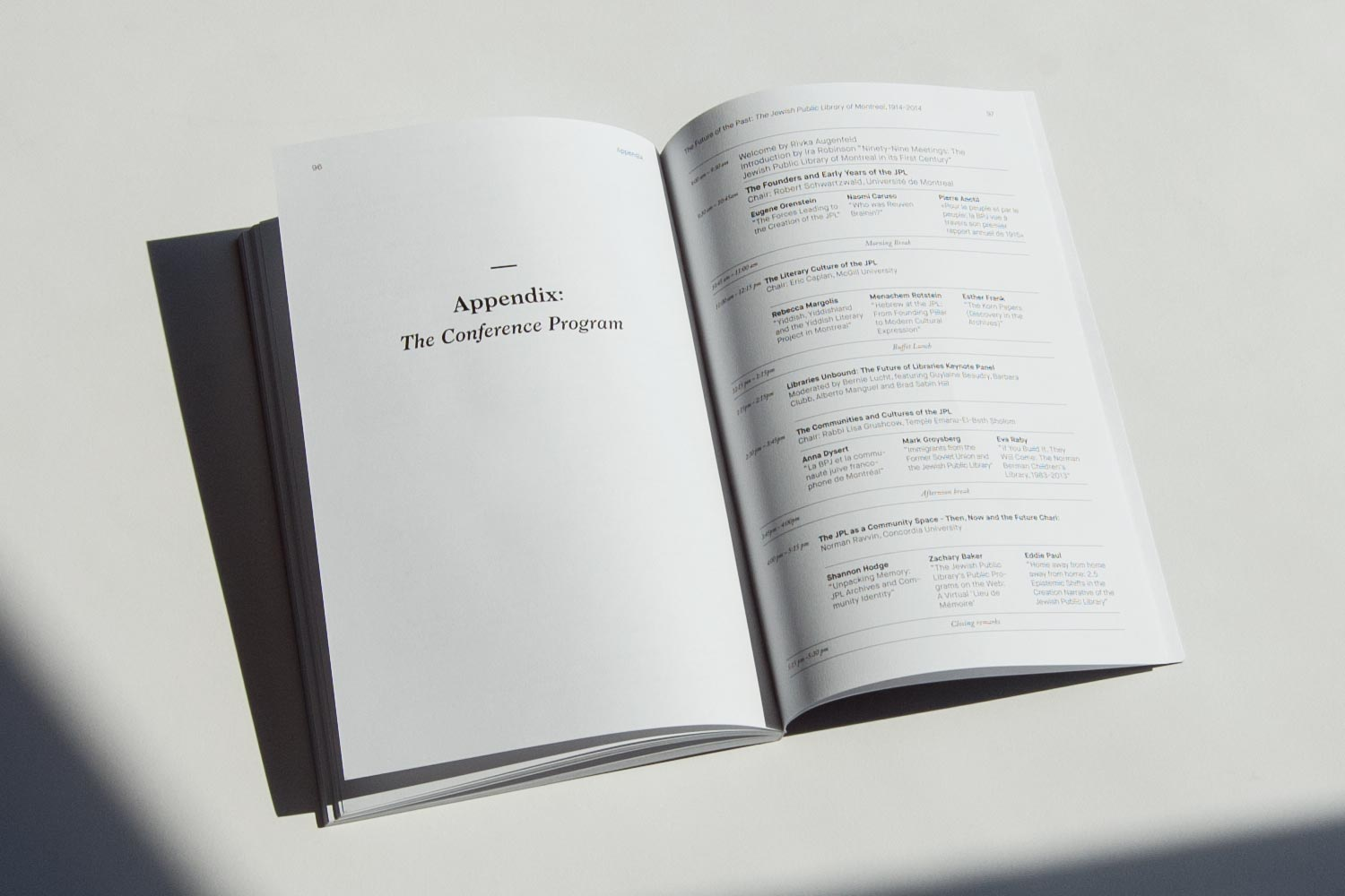 The Future of The Past Book Design