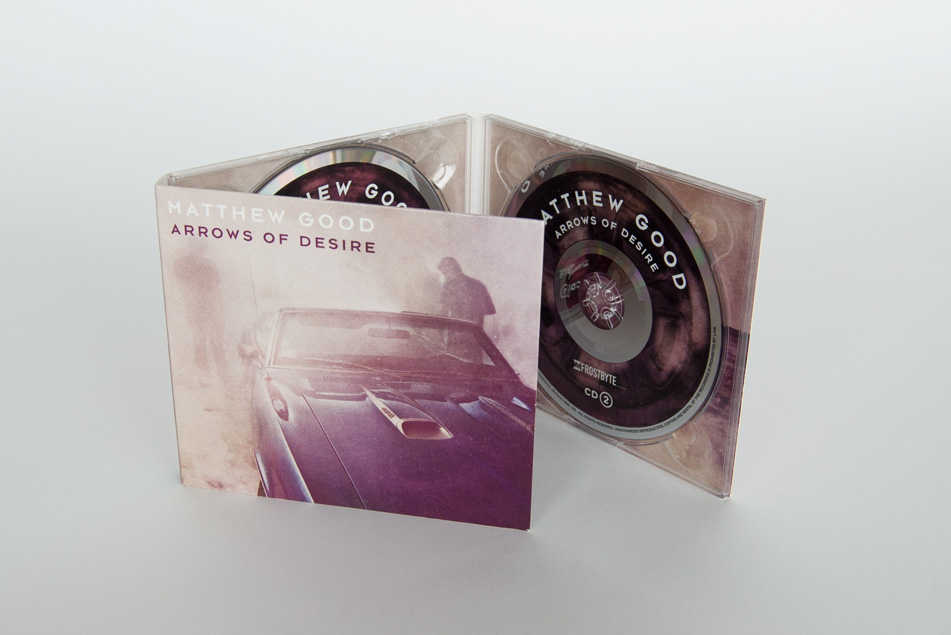 Matthew Good Arrows Of Desire CD Design