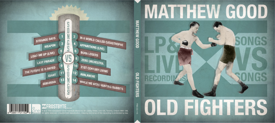Matthew Good Old Fighters CD Design