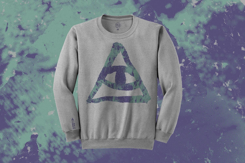 Sigur Ros Kveikur Eye Sweatshirt Design