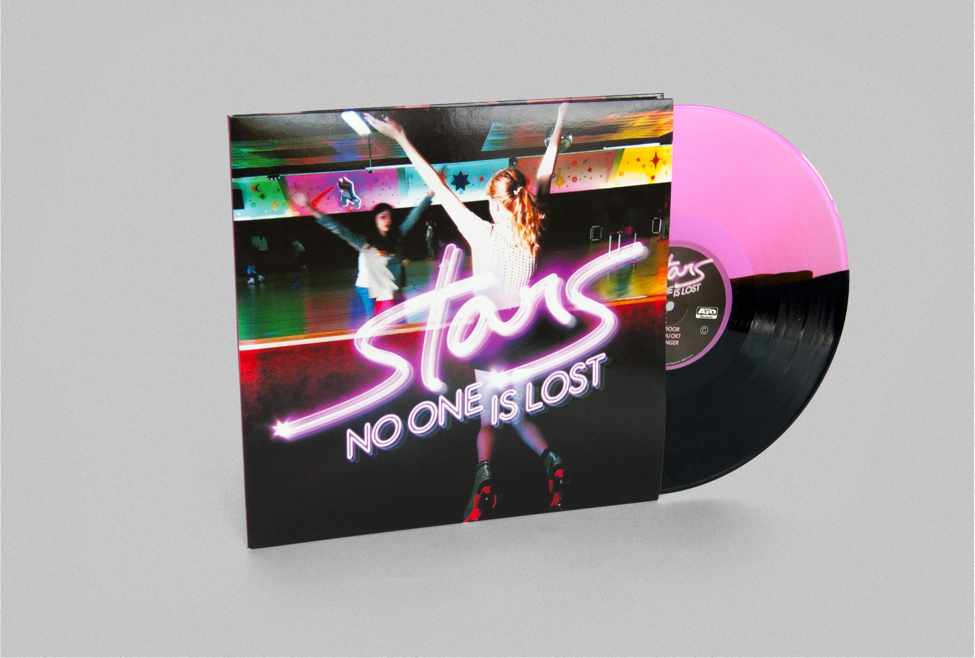Stars No One Is Lost Vinyl Design