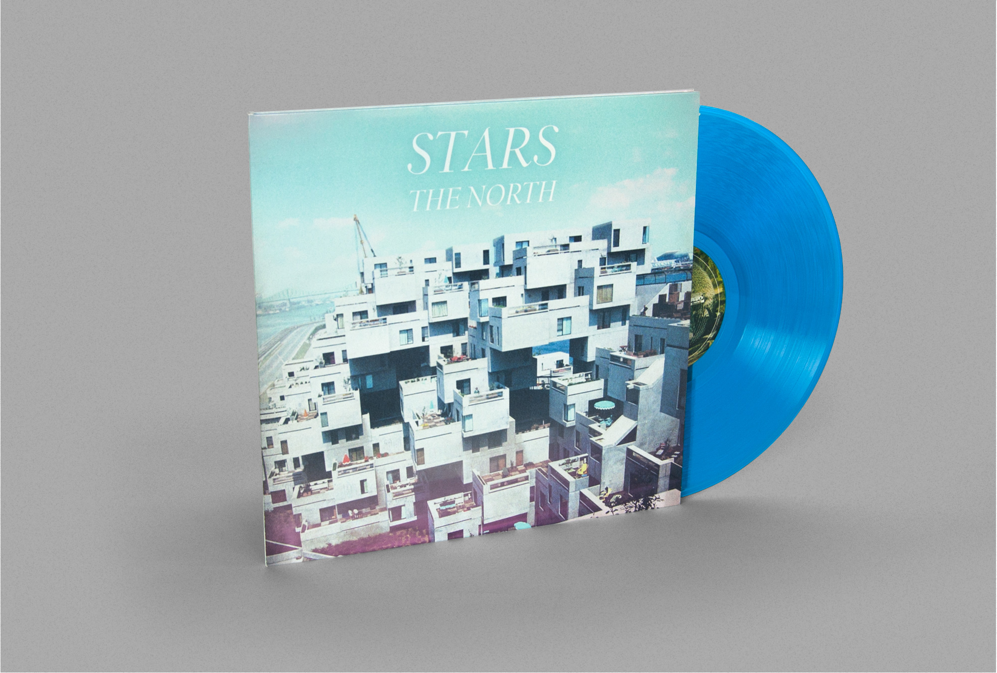 Stars The North Vinyl Design