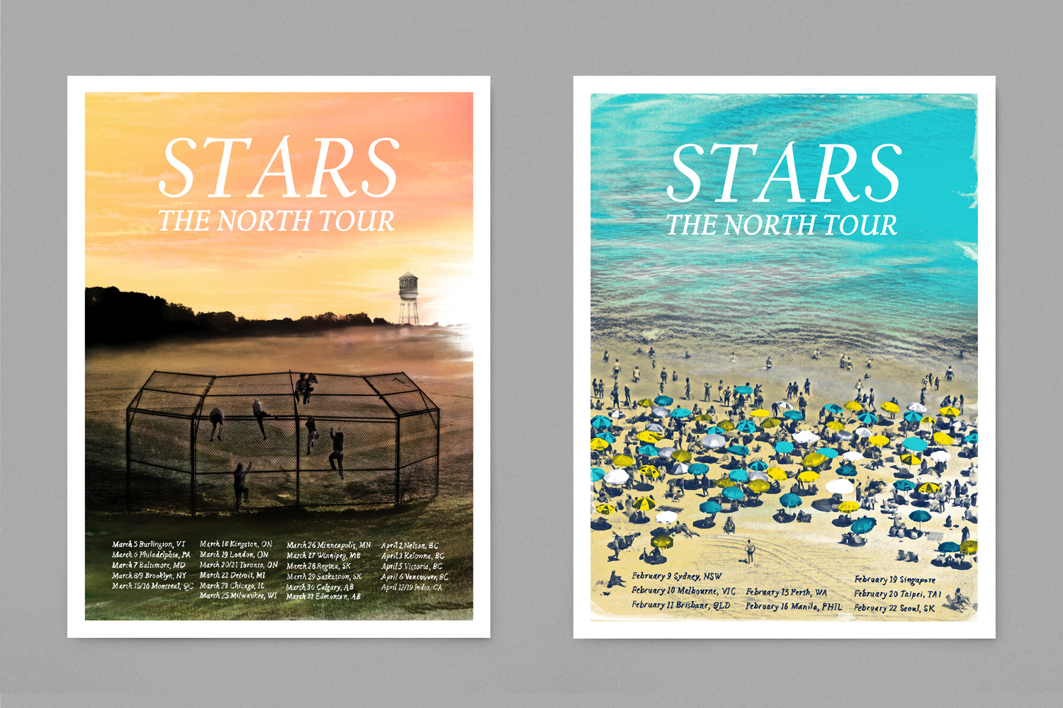 Stars The North Poster Design