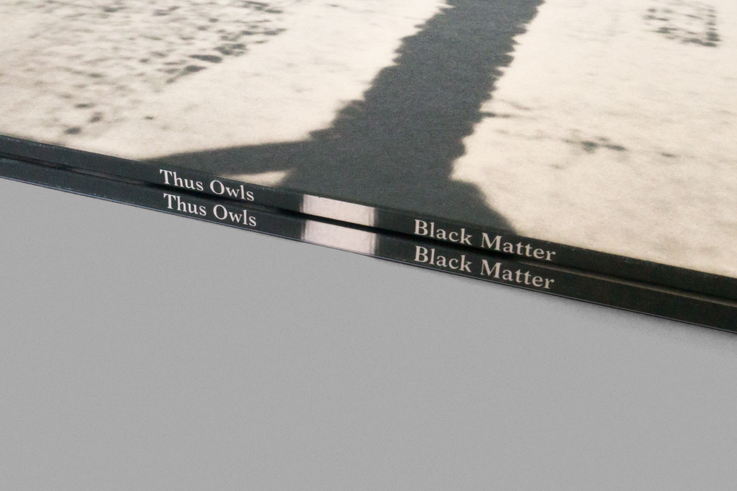 Thus Owls Black Matter Spine