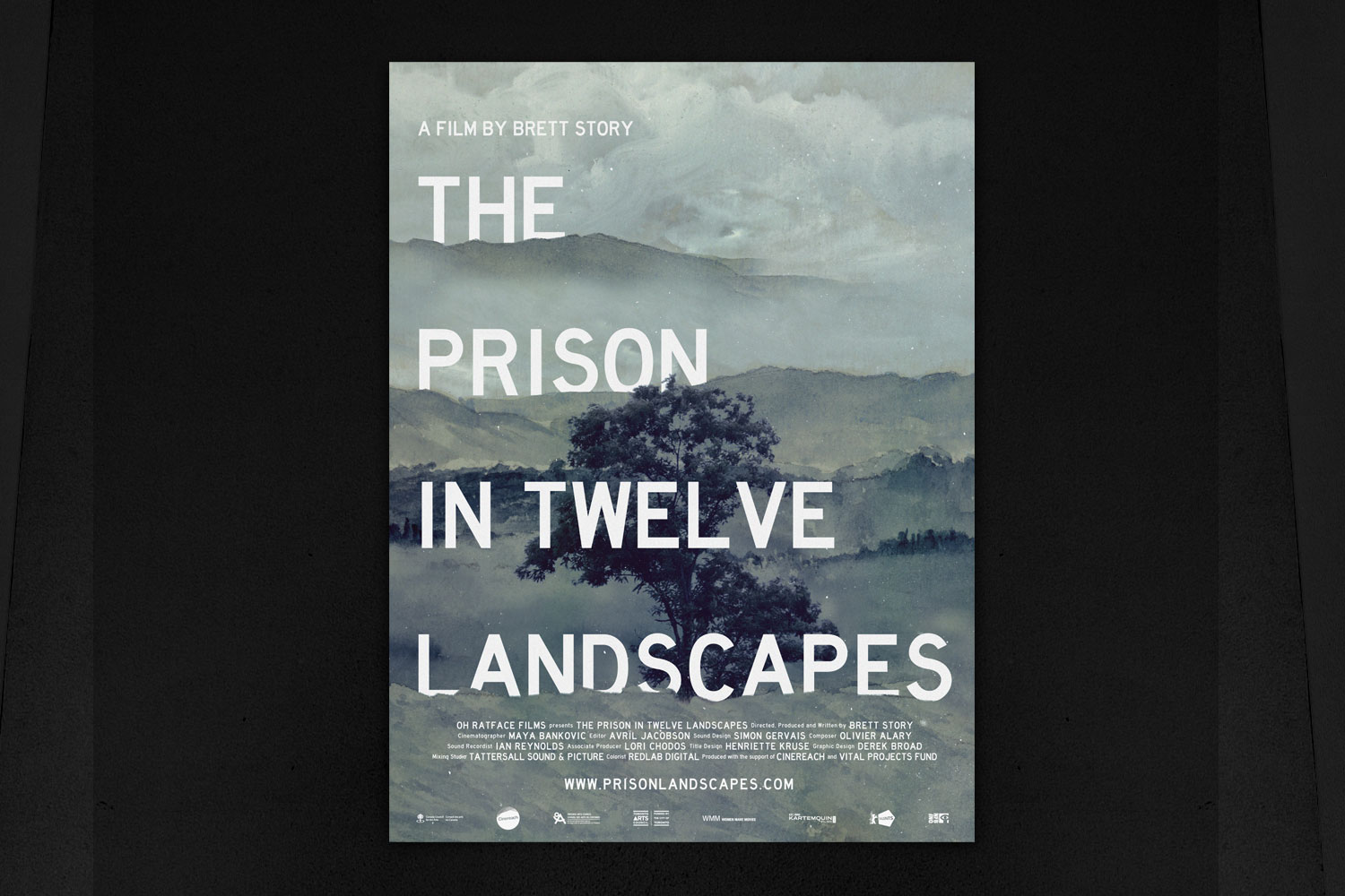 The Prison In Twelve Landscapes Poster